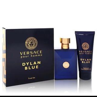 ジャンニヴェルサーチ(Gianni Versace)のヴェルサーチ ディランブルー トラベル セット オードトワレ+シャワージェル(その他)