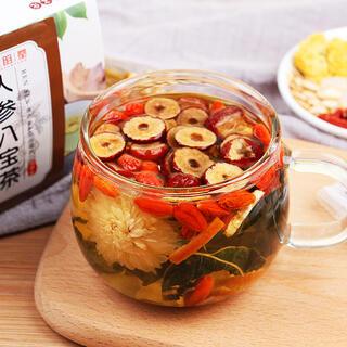 人参八宝茶 健康薬膳茶 中国茶 漢方茶 花茶 ハーブティー 美容茶フルーツティー(健康茶)