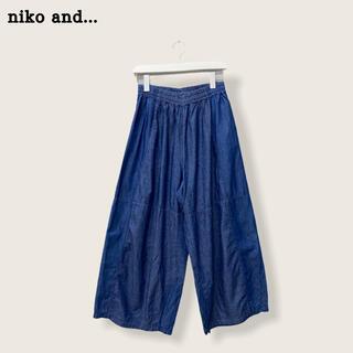 niko and... - 【niko  and…】デニムパンツ ニコアンド