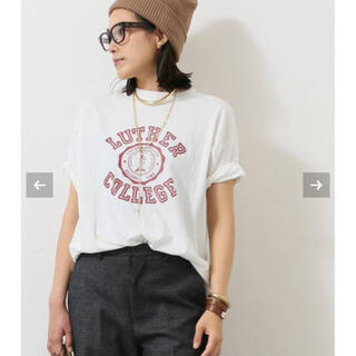 L'Appartement DEUXIEME CLASSE - アール ジュビリー 別注 LUTHER COLLEGE Tシャツ