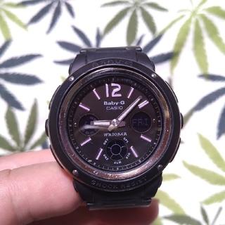 ベビージー(Baby-G)のCASIO Baby-G bga-150 ジーショック ブラック(腕時計)
