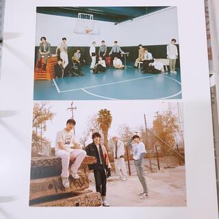 セブンティーン(SEVENTEEN)のSEVENTEEN ヘンガレ ポストカード 2種(K-POP/アジア)