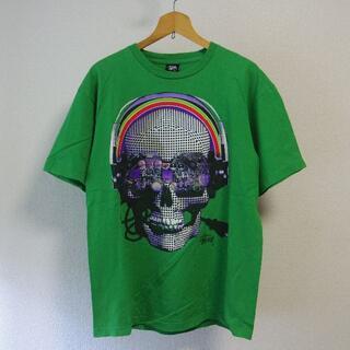 ステューシー(STUSSY)のStussy Cyber Skull ステューシー サイバースカル Tシャツ(Tシャツ/カットソー(半袖/袖なし))