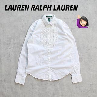 ラルフローレン(Ralph Lauren)の◎LAUREN RALPH LAUREN◎ラルフローレン◎タキシードシャツ◎レア(シャツ/ブラウス(長袖/七分))