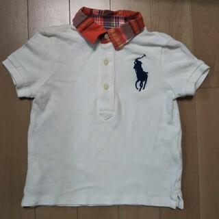 ポロラルフローレン(POLO RALPH LAUREN)のポロバイラルフローレン 子供服 ビッグロゴ ポロシャツ(シャツ/カットソー)