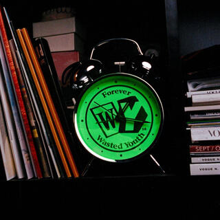 シュプリーム(Supreme)のWasted Youth 置き時計 ブラック(置時計)