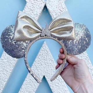 Disney - 即購入OK⭐️新品 海外ディズニー シンデレラ城モチーフミニーカチューシャ