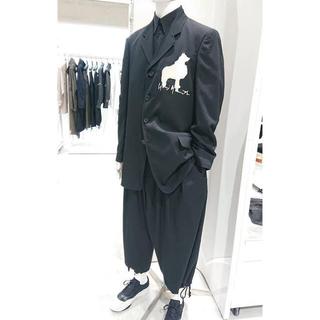 yohji yamamoto pour homme 犬刺繍ジャケット