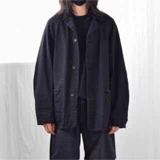 COMOLI - COMOLI コモリ デニムワークジャケット 21SS  ブラック  サイズ2