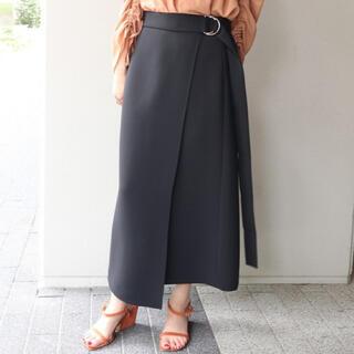 ノーブル(Noble)の【NOBLE】ロングストラップタイトスカート(ロングスカート)