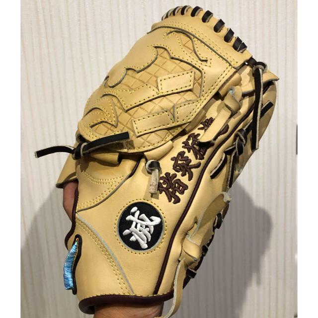 ミズノプロオーダー 軟式投手用グローブ スポーツ/アウトドアの野球(グローブ)の商品写真