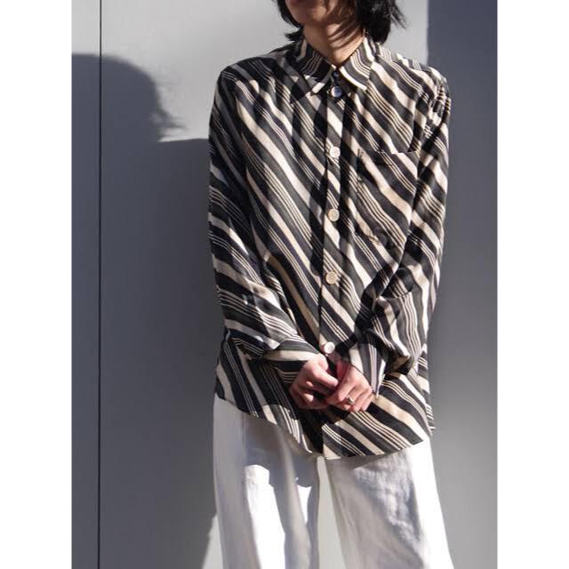 SUNSEA(サンシー)のMASU VASE PATTERN SHIRT 21ss メンズのトップス(シャツ)の商品写真