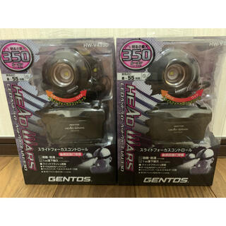ジェントス(GENTOS)のGENTOS(ジェントス) LEDヘッドライト HW-V433D 350ルーメン(ライト/ランタン)