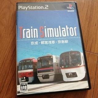 プレイステーション2(PlayStation2)のトレインシミュレータ 京成・都営浅草・京急線 プレステ2(家庭用ゲームソフト)