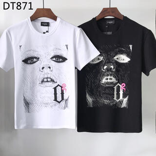 ディースクエアード(DSQUARED2)のDSQUARED2 DT 871 2着9100円半袖Tシャツ (シャツ)
