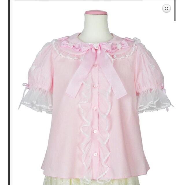 Angelic Pretty(アンジェリックプリティー)のアンジェリックプリティ ブラウス レディースのトップス(シャツ/ブラウス(半袖/袖なし))の商品写真