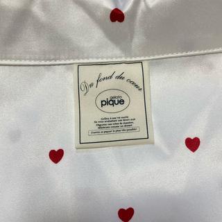 ジェラートピケ(gelato pique)のジェラート ピケ ハートサテンパジャマセット シャツ パンツ(パジャマ)
