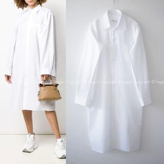 Maison Martin Margiela - 【定価16.4万】メゾン マルジェラ オーバーサイズ シャツ ワンピース ドレス
