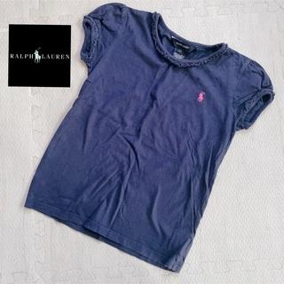 Ralph Lauren - ラルフローレン ロゴ刺繍 紺色 キッズ用 Tシャツ