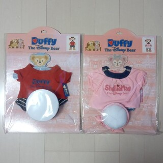 ダッフィー(ダッフィー)の【公式コスチューム】ダッフィー&シェリーメイ 半袖、ハーフパンツ衣装 Duffy(ぬいぐるみ)