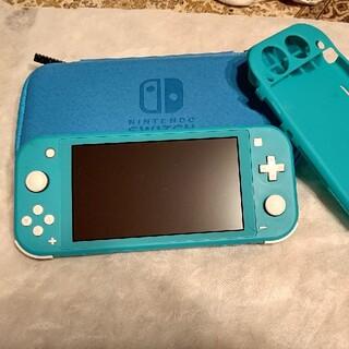 ニンテンドースイッチ(Nintendo Switch)の専用 Nintendo Switch ターコイズ(携帯用ゲーム機本体)