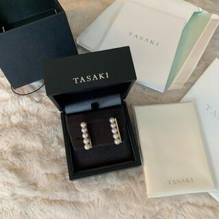 TASAKI - TASAKI バランス パールピアス YG 保証書あり 美品