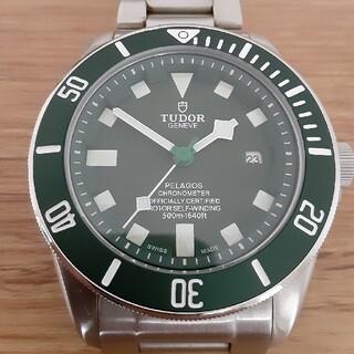 チュードル(Tudor)の少々訳ありチュードルペラゴスタイプ自動巻き腕時計 中古美品(腕時計(アナログ))
