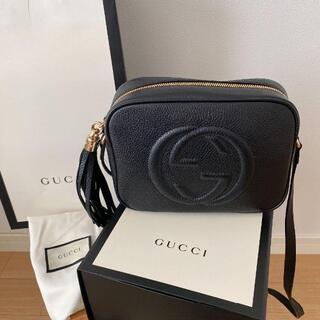 Gucci - 新品未使用 GUCCI グッチ ショルダーバッグ 斜め掛け 黒 正規品