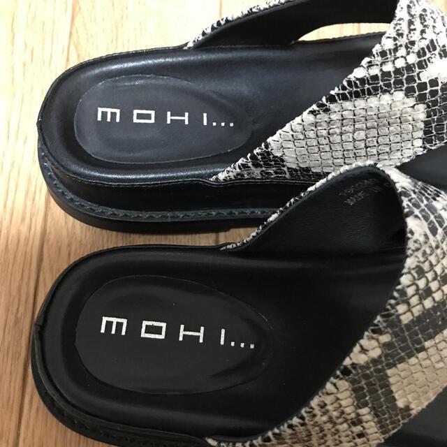 L'Appartement DEUXIEME CLASSE(アパルトモンドゥーズィエムクラス)のL'Appartement  MOHI PYTHON SANDAL サンダル  レディースの靴/シューズ(サンダル)の商品写真