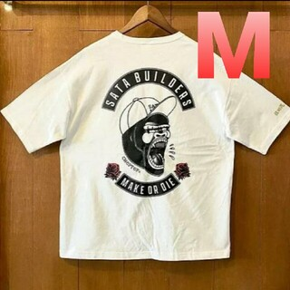 佐田ビルダーズ ステッカー付き Tシャツ M choptop(Tシャツ/カットソー(半袖/袖なし))