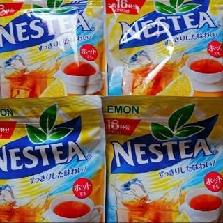 ネスレ(Nestle)のネスレ レモンティー 4袋(その他)