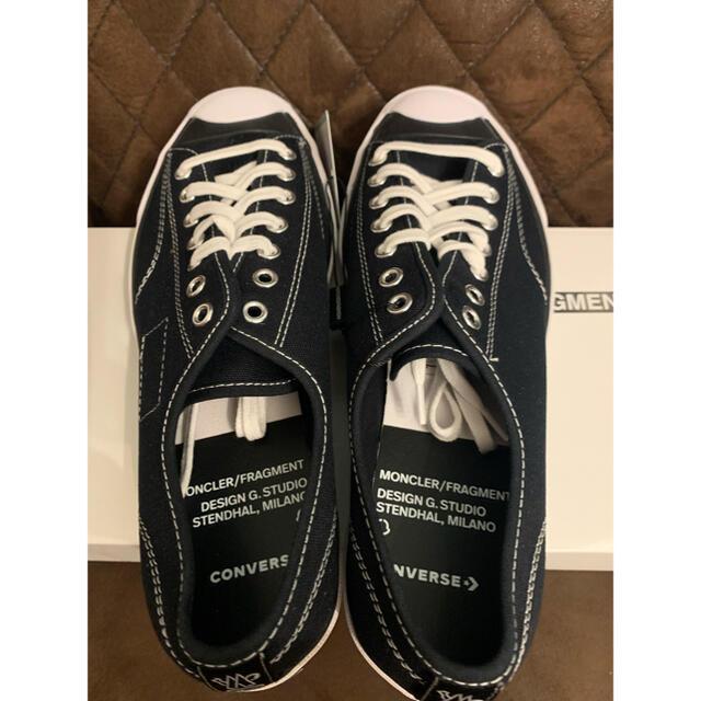 MONCLER(モンクレール)のCONVERSE × MONCLER × FRGMT JACK PURCELL メンズの靴/シューズ(スニーカー)の商品写真