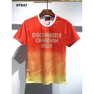 ディースクエアード(DSQUARED2)のDSQUARED2 DT848   半袖Tシャツ メンズ (Tシャツ/カットソー(半袖/袖なし))