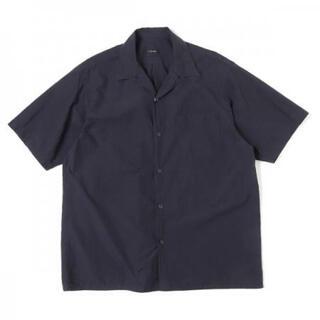 コモリ(COMOLI)の20SS COMOLI タイプライターオープンカラーシャツ ネイビー 1(シャツ)