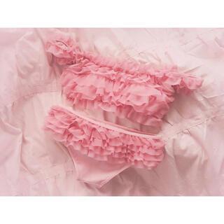 スナイデル(snidel)のpui rose swim suit(水着)