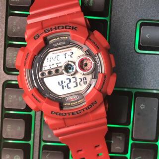 G-SHOCK - CASIO  カシオG-SHOCK GD-100 レッド 稼動品