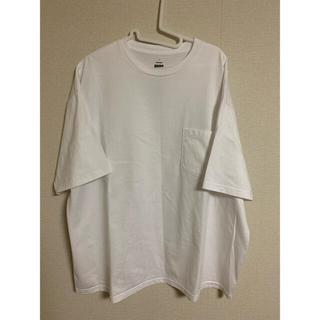 コモリ(COMOLI)のグラフペーパー オーバーサイズTシャツ(Tシャツ/カットソー(半袖/袖なし))