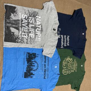 Design Tshirts Store graniph - デザインティーシャツストアグラニフ  Tシャツ4枚セット
