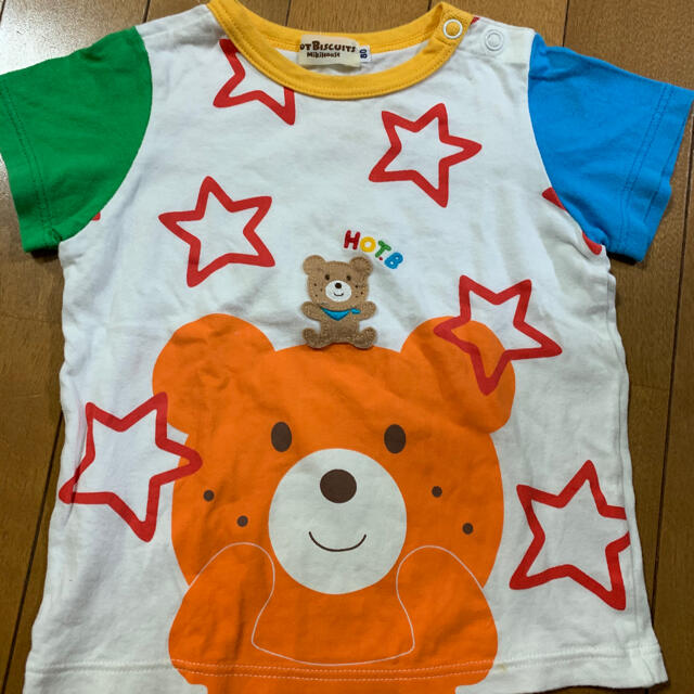HOT BISCUITS(ホットビスケッツ)のホットビスケッツ ミキハウス Tシャツ キッズ/ベビー/マタニティのベビー服(~85cm)(Tシャツ)の商品写真