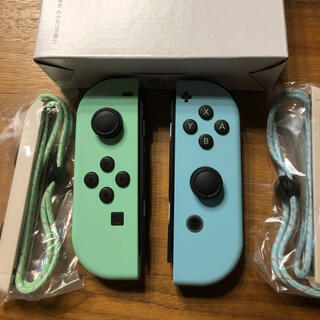ニンテンドースイッチ(Nintendo Switch)の中古 あつ森 ジョイコン 任天堂 スイッチ(携帯用ゲーム機本体)