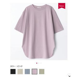 しまむら あやコラボ コットンフロムUSAチュニックtシャツ
