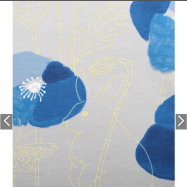 Graniph(グラニフ)の新品★グラニフ ポピー&うさぎ ワンピース チュニック 蝶 花 レディースのワンピース(ひざ丈ワンピース)の商品写真