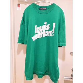 ルイヴィトン(LOUIS VUITTON)の【全国完売】レア Louis Vuitton Tシャツ 緑 XXL(シャツ)