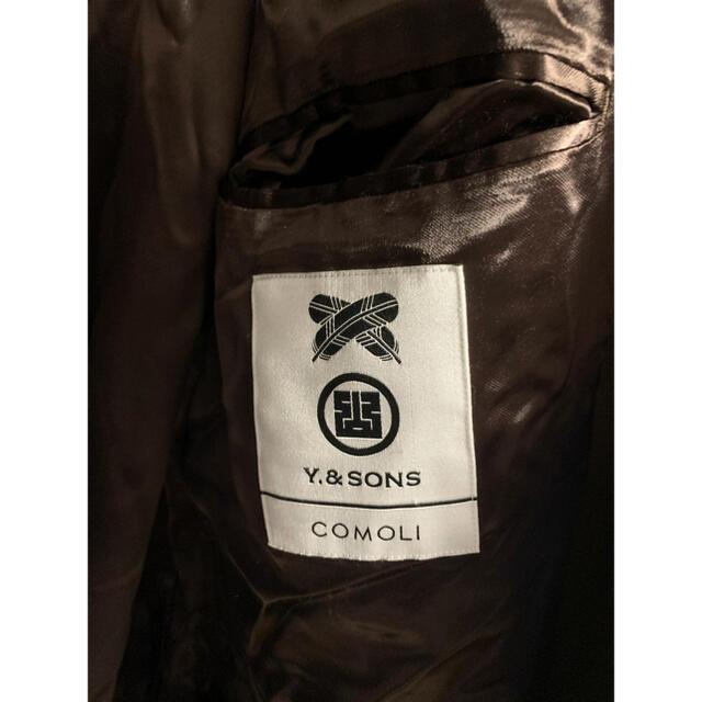 COMOLI(コモリ)のCOMOLI 18AW ウールサージタイロッケンコート 2 y&sons別注 メンズのジャケット/アウター(トレンチコート)の商品写真