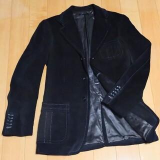 グッチ(Gucci)の最高級 グッチ スエードジャケット 46 ルイヴィトン エルメス プラダ(レザージャケット)
