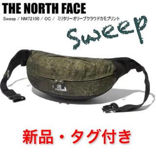 THE NORTH FACE - 新品☆ノースフェイス Sweep ミリタリー オリーブ クラウド カモ プリント