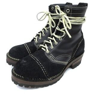 ウエスコ(Wesco)のウエスコ ワーク ブーツ ジョブマスター カスタム スエードxレザー 26cm(ブーツ)