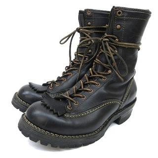 ウエスコ(Wesco)のウエスコ ワーク ブーツ ロング ジョブマスター フォルスタン レザー 26.5(ブーツ)