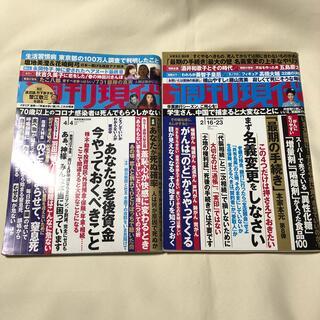 週刊現代 2冊セット (ニュース/総合)