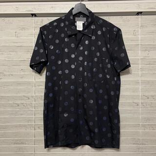 ヨウジヤマモト(Yohji Yamamoto)のYohjiyamamoto POUR HOMME   ドット柄半袖シャツ (シャツ)